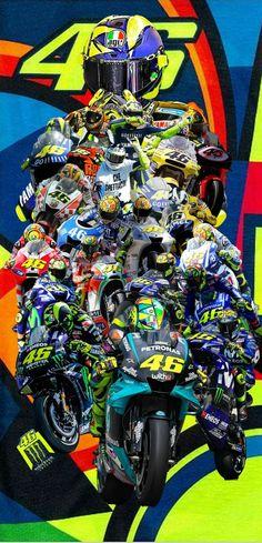 Valentino Rossi Logo, Valentino Rossi Yamaha, Vale Rossi, Velentino Rossi, R1 Bike, Bike Pic, Marc Marquez, Gp Moto, Vr46