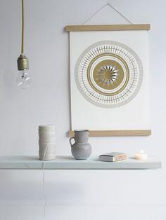 Pop up poster here comes the SUN - Jurianne Matter - BijzonderMOOI* - Dutch design
