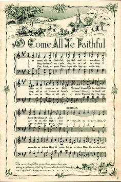 printable christmas songs frame and hang for decorations - Best Christmas Hymns