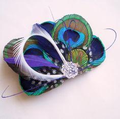 ATLANTIS II  Fantastical Peacock Feather by TheHeadbandShoppe, $40.00