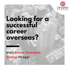 If you are looking forward to pursue your higher education overseas and give your career a hike then you must visit your nearest #StudyOverseasGlobal Center today! Visit: www.studyoverseasglobal.com for expert guidance. #StudyOverseas #HigherEducation #StudyAbroad #StudyOptions #VisaGuidance