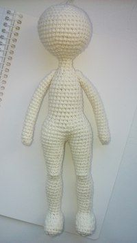 Gorgeous Amigurumi Dolls Love this sweet travelling doll crochet amigurumi pattern!As you know, I love amigurumi! And I'm so impressed by the lovely amigurumi doll patterns that are aOne piece amigurumi doll tutorial type photo, from the bottom up. Crochet Dolls Free Patterns, Crochet Doll Pattern, Doll Patterns, Crochet Patterns Amigurumi, Amigurumi Doll, Crochet Toys, Crochet Girls, Crochet Baby, Free Crochet