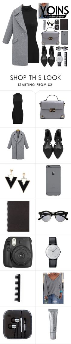 """YOINS"" by imelda-marcella-chandra ❤ liked on Polyvore featuring Muji, Retrò, Fujifilm, Klein & more, GHD, yoins and loveyoins"
