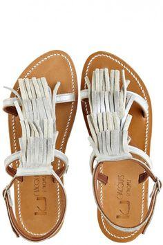 Fringe Sandal // calypso st barth