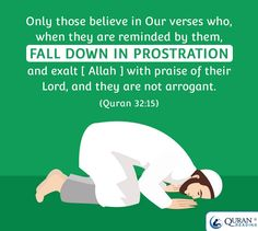 Fall down in prostration