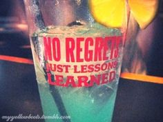 N0 Regrets; Just Less0ns Learned*
