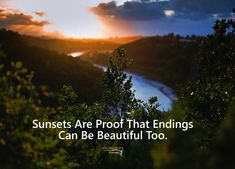 Sunsets are proof that endings can be beautiful too. Rumi Quotes, Poetry Quotes, Positive Quotes, Love Quotes, Good Instagram Captions, Instagram Story, Selfie Captions, Selfies, Quotations