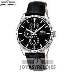 ⬆️😍✅ Lotus 18219/4 😍⬆️✅ Fantástico Modelo de la Colección de Relojes LOTUS || PRECIO  € Disponible en 😍 https://www.joyasyrelojesonline.es/producto/lotus-182194-reloj-de-pulsera-hombre-cuero-color-negro/ 😍 ¡¡Ofertas Limitadas!!