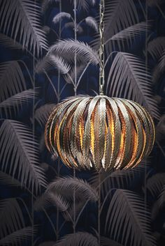 stunning Montserrat Mini Silver Leaf Ceiling Light from John Lewis. #lights