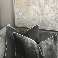 """B M D E S I G N på Instagram: """"Updating some of my own cushions at home in our formal living room. I wanted something comfortable so this plush velvet works perfectly and…"""" Sofa Pillows, Throw Pillows, Scatter Cushions, Formal Living Rooms, Drapes Curtains, Soft Furnishings, House Colors, Window Treatments, Decorative Pillows"""
