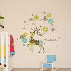 Csodás szarvas falmatrica   #szarvas  #gyerekszobafalmatrica #falmatrica #gyerekszobadekoráció #gyerekszoba #matrica #faldekoráció #dekoráció Lany, Deer, Decals, Beautiful, Home Decor, Tags, Decoration Home, Room Decor, Sticker