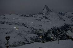 ღღ Matterhorn in winter