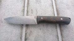 19418, celková délka 220, čepel 105/30/3 mm, rukojeť opálený dub