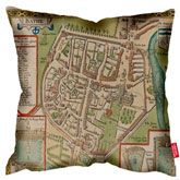 Map of Bath cushion