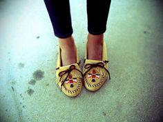 I used to have mocassins when i was little. time to get more? i think yes!