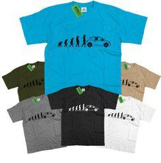 Mens-Evolution-of-Ape-to-Fiat-500-T-Shirt-Italian-Supermini-Abarth