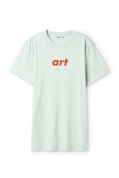 Weekday Alan Pride T-Shirt in Turquoise Light