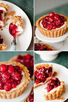 Maple-Walnut Cranberry Tart