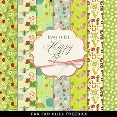 New Freebies Kit - Happy Life (Far Far Hill)