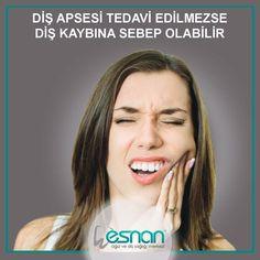 Diş apsesi tedavi edilmezse diş kaybına sebep olabilir.... www.esnan.com.tr #apse #dişsağlığı #esnan #diş #istanbuldiş #dişhastanesi #dişkliniği #dentalhospital #dentist #dişhekimi