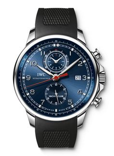 "IWC Portoghese Yacht Club Chronograph Edition ""Laureus Sport for Good Foundation"" 1000 pieces"