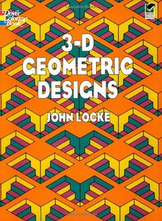 3-D Geometric Designs (Dover Design Coloring Books)