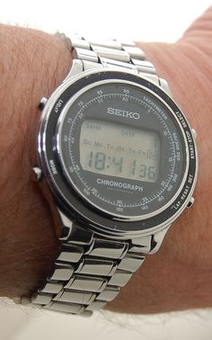 vintage lcd watches