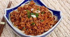 Gochujang Noodle Bowl via Sweet & Sour Chronicles >> #WorldMarket Gourmet Recipes