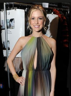 Kristin Cavallari Wearing The Gold Chantilly Lace Cuff Bracelet By Stella Dot Looks Absolutely