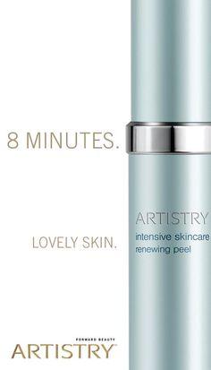 Beautiful skin in 8 mins. Www.amwayglobal.com/texans