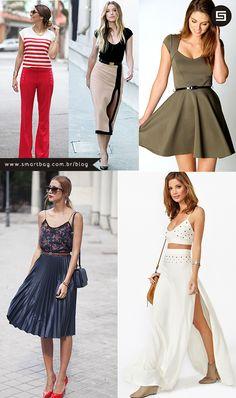 Aprenda exatamente o que você precisa buscar nas roupas para elas ficarem com o caimento perfeito no seu corpo. ;)