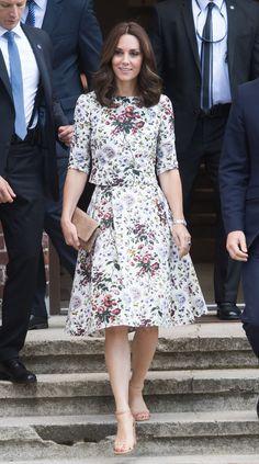 Kate Middleton visits concentration camp