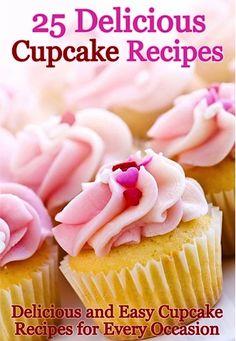 FREE e-Cookbook: 25 Delicious Cupcake Recipes!  {yum!} ~ at TheFrugalGirls.com #cupcake #recipes