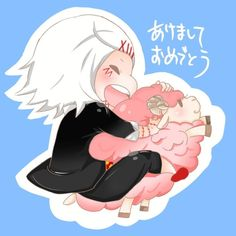 Adorable Suzuya white haired @DaraenSuzu