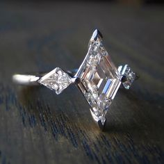 Doyle & Doyle Jewelry Page · Did you follow along with our Instagram ring event last night? Based on comments and likes, this super awesome lozenge step cut diamond ring won the night!
