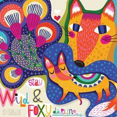 orange you lucky!: wild foxy darlings . . .