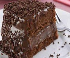 Receita de A melhor receita de bolo de chocolate - Show de Receitas                                                                                                                                                                                 Mais