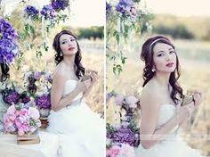 Stylized wedding photography shoot