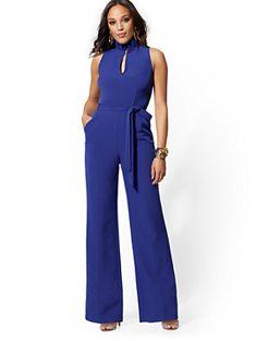 Whitney High-Waisted Pull-On Ankle Pant - New York & Company Denim Shirt Dress, Sweatshirt Dress, Plaid Dress, Tank Top Dress, Maxi Wrap Dress, Petite Fashion, Women's Fashion, Color Block Sweater, Ankle Pants