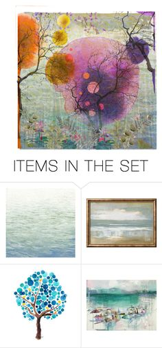 """""""Colors of nature"""" by colonae ❤ liked on Polyvore featuring art"""