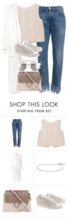 """Untitled #2012"" by sophiasstyle ❤ liked on Polyvore featuring MANGO, Sabine Luise, Roberto Marroni, Chloé, adidas Originals and Christian Dior"
