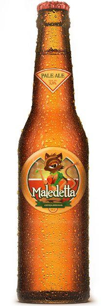 Concept design, brand & illustration. Cerveja artesanal Malledeta - São Paulo, Brasil. http://cargocollective.com/diogomicrowave/Maledetta-concept-design