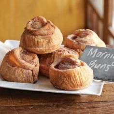These Morning Buns from WilliamsSonoma are my husband's favorite.  He even baked them on the gas grill when Hurricane Sandy struck and left us powerless.