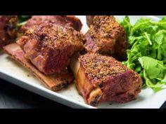 Mustard Beef Short Ribs Recipe   Traeger Grills