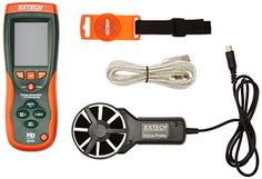 Wind Speed Gauges - Extech Instruments HD300 CFMCMM ThermoAnemometer with Builtin Infrared Thermometer >>> Be sure to check out this awesome product. (This is an Amazon affiliate link)