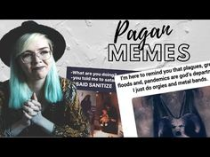 GHOSTS ARE RETURNING TO THE STREETS OF SALEM | Witch Reacts to Pagan Memes - YouTube Wicca, Pagan, Metal Bands, Ghosts, Things To Think About, Irish, Memes, Youtube, Movie Posters