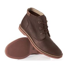 Lacoste Sherbrooke Hi 6 SRM Shoes - Dk Brw | Free UK Delivery