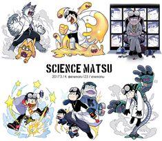 Science-matsu by enematsu Anime Guys, Manga Anime, Anime Art, Character Personality, Character Art, Osomatsu San Doujinshi, Sans Art, Japanese Cartoon, Ichimatsu