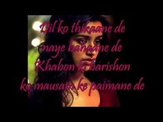 """Tum Hi Ho"" Lyrics & English Translation- ""Aashiqui 2"" (2013) - YouTube"