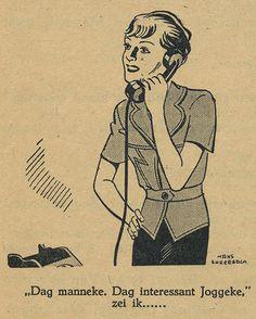 De H.B.S tijd van Joop ter Heul - Cissy van Marxveldt - Illustration by Hans Borreback